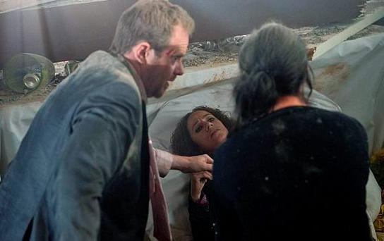 Ruby dies in the company of Dan and Kerry in Emmerdale