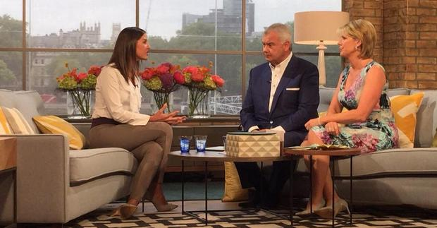 Lady Lara Asprey shared this photo of herself on ITV's This Morning