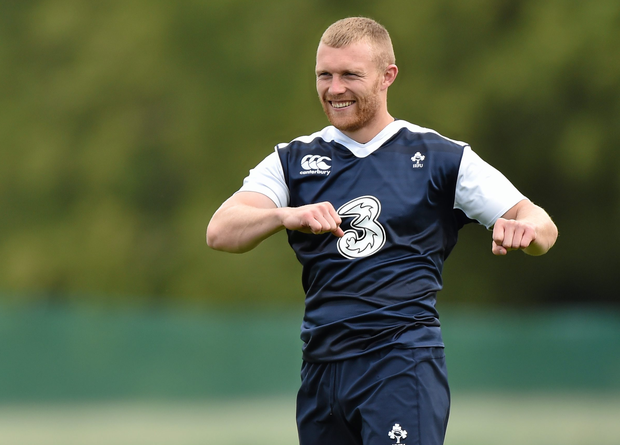 Keith Earls has been named in the Irelands team to play Wales this weekend.