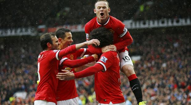 Manchester United are in a good position to win the title