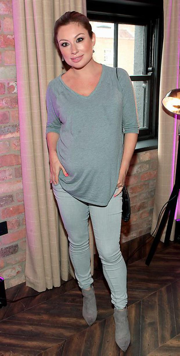Leigh Arnold pictured at the reveal of the Urban Decay Naked Smoky Palette at The Dean Hotel,Dublin