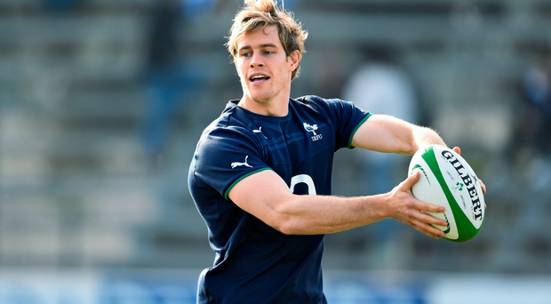 Andrew Trimble, who hasn't played since October, must hit the ground running on his return to action
