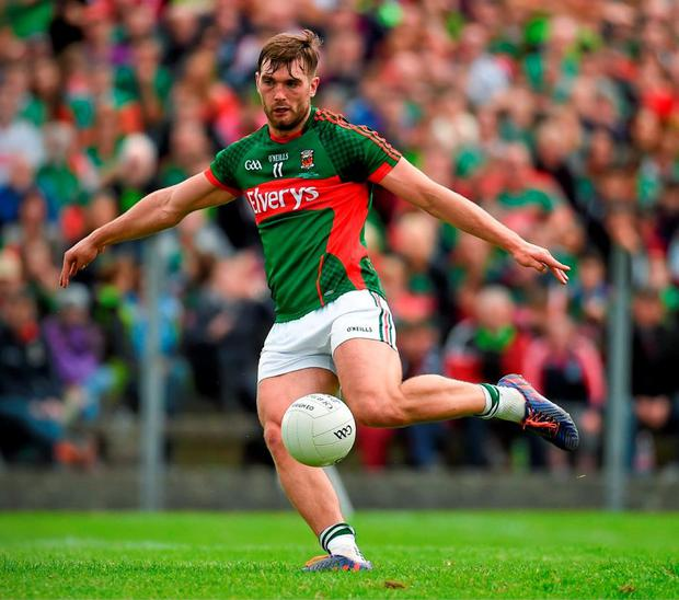 One of two key men for their counties on Sunday will be Mayo's Aidan O'Shea