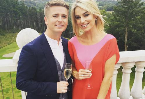 Pippa O'Connor and Brian Ormond