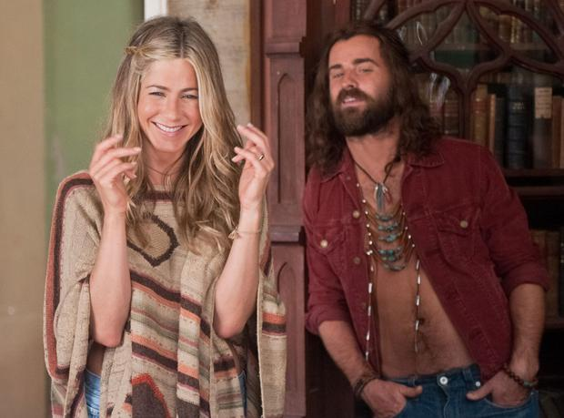 Jennifer Aniston and Justin Theroux in Wanderlust. Picture: Universal Pictures