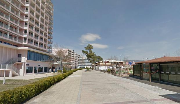 The incident took place in the Sunny Beach area of Bulgaria (Photo: Google Maps)