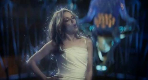 Kylie in the Absolutely Anything and Anything at All video