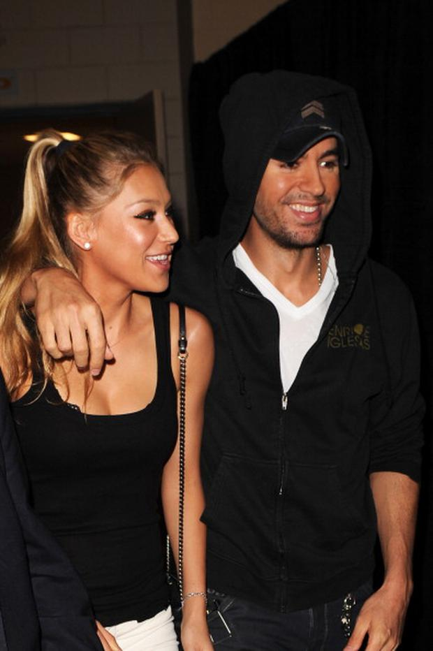 As loved up as ever: the couple back in 2012