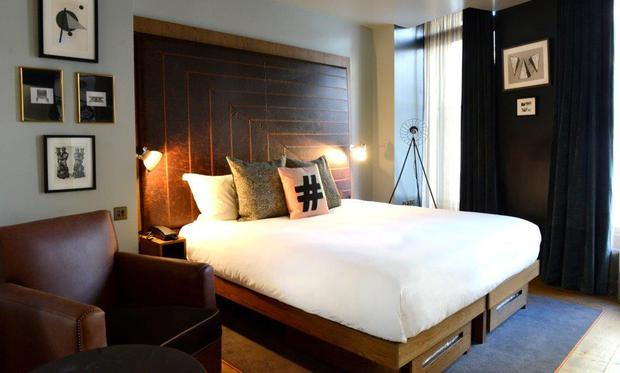 A room at the Hoxton Holborn