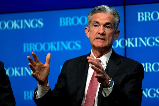 Federal Reserve Governor Jerome Powell delivers remarks during a conference at the Brookings Institution in Washington. Photo: Reuters