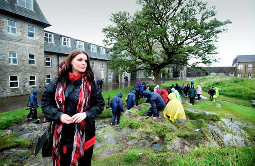 Retreat: Sile Seoige on Lough Derg. St. Patrick's Purgatory, is among the oldest centres of Christian Pilgrimage in Western Europe. Photo: Mat Mackey.