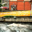 Signs go up around Sligo in preparation for the 2015 All Ireland Fleadh Cheoil