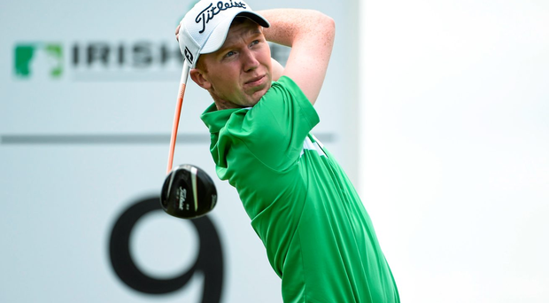 Gavin Moynihan shot a five-under 67 to put himself right back into contention