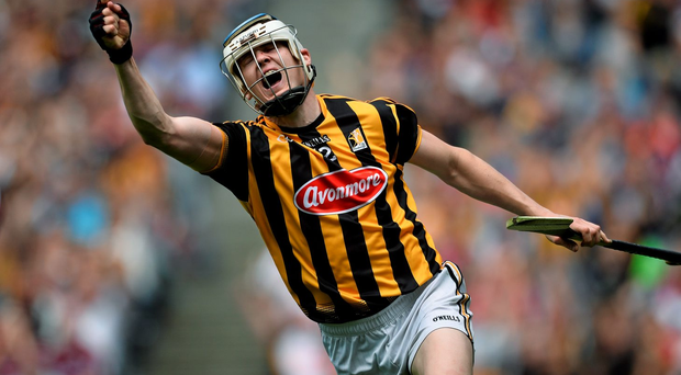 T J Reid is one of those Kilkenny forwards who is capable of winning his own possession