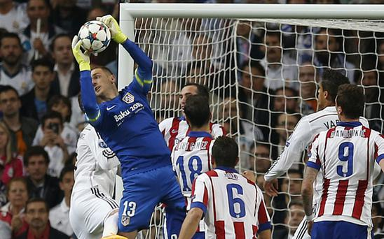 Jan Oblak could be a possible replacement for David de Gea Photo: AP