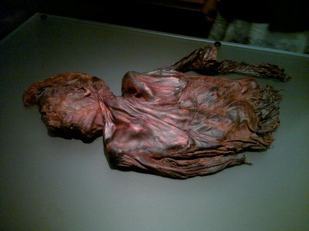 Sacrificed: This bog body may be that of an ancient king who was killed and offered up to the gods