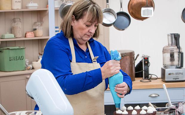 Marie Campbell (66) was crowned star baker in the first episode of the new series