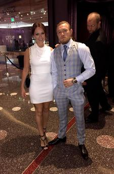 Conor and Dee celebrated her birthday in style in Las Vegas