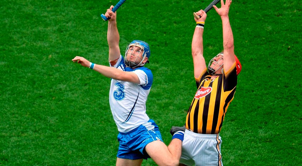 Colin Dunford of Waterford in action against Kilkenny's Cillian Buckley at Croke Park