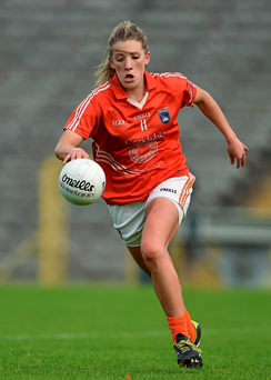 Kelly Mallon's goal midway through the second half was key in helping Armagh to advance past gallant Meath in Saturday's qualifier at Breffni Park