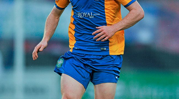 Hugh Douglas scored his first goal for Bray to give them a fifth 1-0 win from six games at the Carlisle Grounds