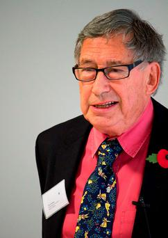 David Nobbs has died. Credit: British Humanist Association/PA Wire