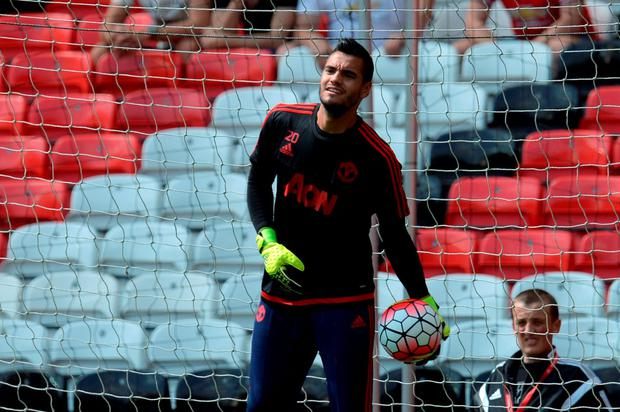 Keeper Sergio Romero kept a clean sheet on his home debut