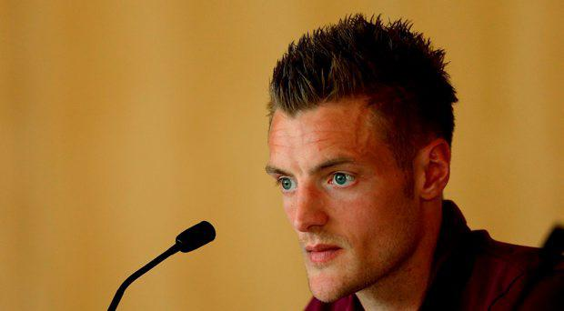 Jamie Vardy, as Leicester City will investigate a ''regrettable error in judgement'' by the forward after he was filmed allegedly using racist language in a casino