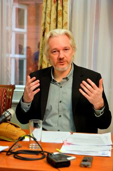 WikiLeaks founder Julian Assange. Photo: John Stillwell/PA Wire