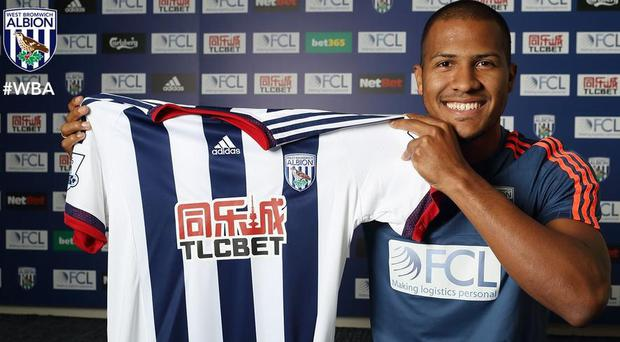 Salomon Rondon has joined the Baggies