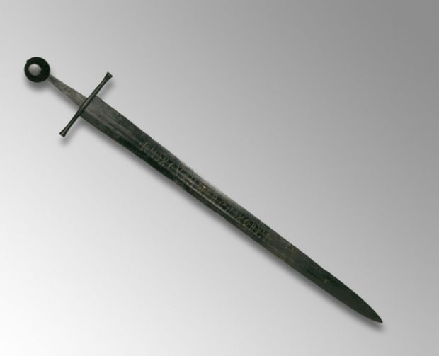 The sword was discovered in Lincolnshire in 1825, and hasn't been deciphered since. Photo: Trustees of the British Museum