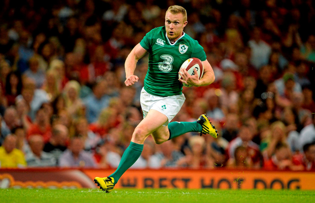Keith Earls will be hoping to build on his try-scoring performance against Wales