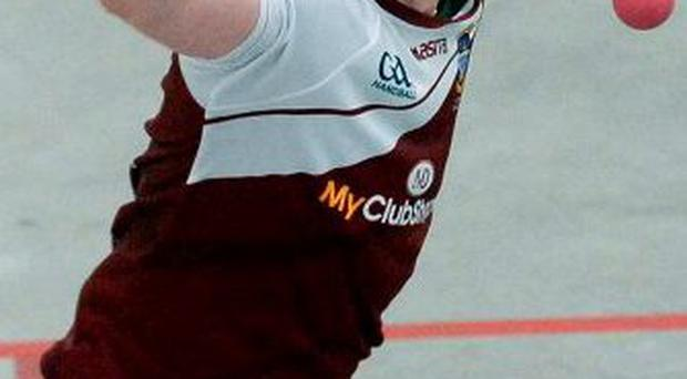 Irish team captain Robbie McCarthy