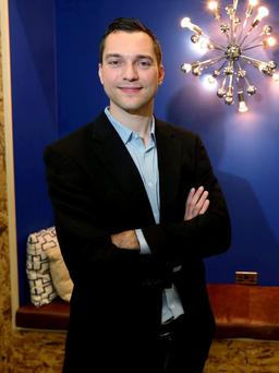 Nathan Blecharczyk, co founder of Airbnb, at the company's HQ in Ringsend, Dublin. Picture: Damien Eagers