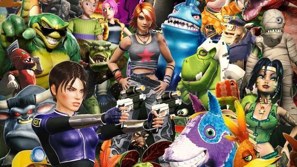 Rare has a storied history and dozens of memorable characters