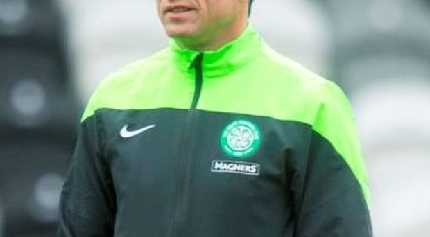 Celtic manager Ronny Deila has defended assistant John Collins (pictured) after he was accused of being disrespectful to the rest of the Premiership