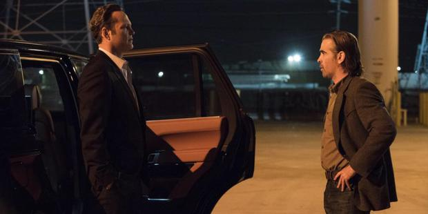 Vince Vaughan and Colin Farrell in the finale of True Detective 2