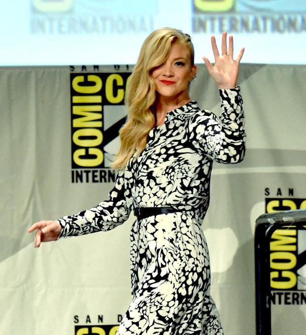 Actress Natalie Dormer attends Entertainment Weekly: Women Who Kick Ass panel and presentation and presentation during Comic-Con International 2014 at San Diego Convention Center on July 26, 2014 in San Diego, California. (Photo by Kevin Winter/Getty Images)