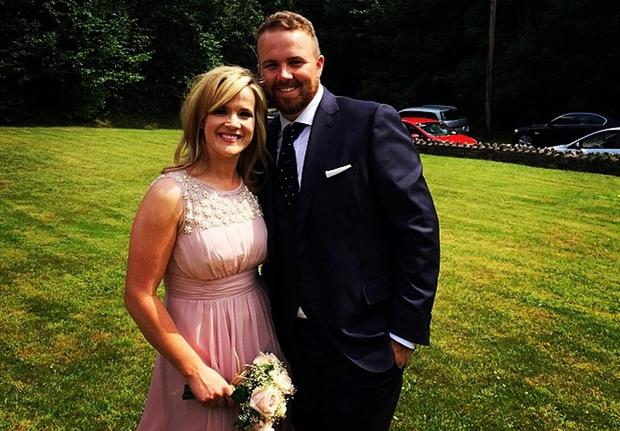 Shane Lowry and Wendy Honner. Picture: Instagram