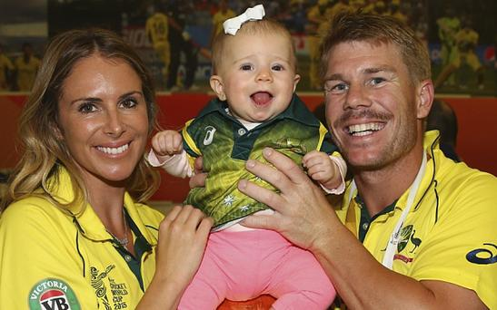In defence of...David Warner's wife says that the WAGS have an important role to play for their partners on tour