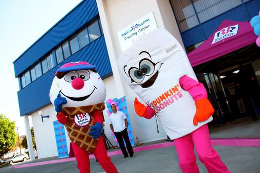 US chain Baskin-Robbins, which also owns Dunkin' Donuts, is targeting locations in Dublin, Cork, Galway, Waterford, Wexford and Belfast
