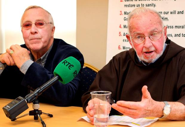 Councillor Christy Burke and Brother Kevin Crowley