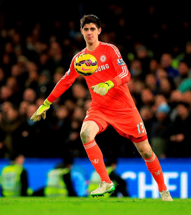 A claim of wrongful dismissal submitted by Chelsea in relation to goalkeeper Thibaut Courtois' red card against Swansea on Saturday has been unsuccessful, the Football Association has announced. See PA story SOCCER Chelsea. Photo credit should read Mike Egerton/PA Wire.