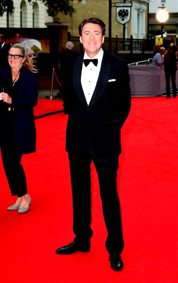 Jonathan Ross attending a BAFTA tribute evening for Downton Abbey held at The Richmond Theatre, London. PRESS ASSOCIATION Photo