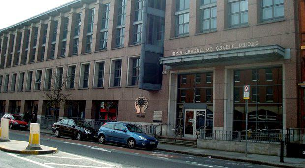 Irish League of Credit Unions building on Lower Mount Street, Dublin