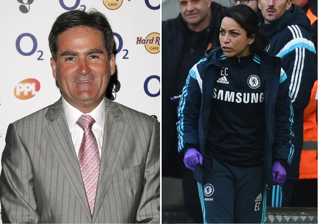 Richard Keys and Eva Carneiro