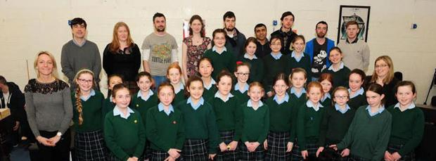 The students in Rathdown