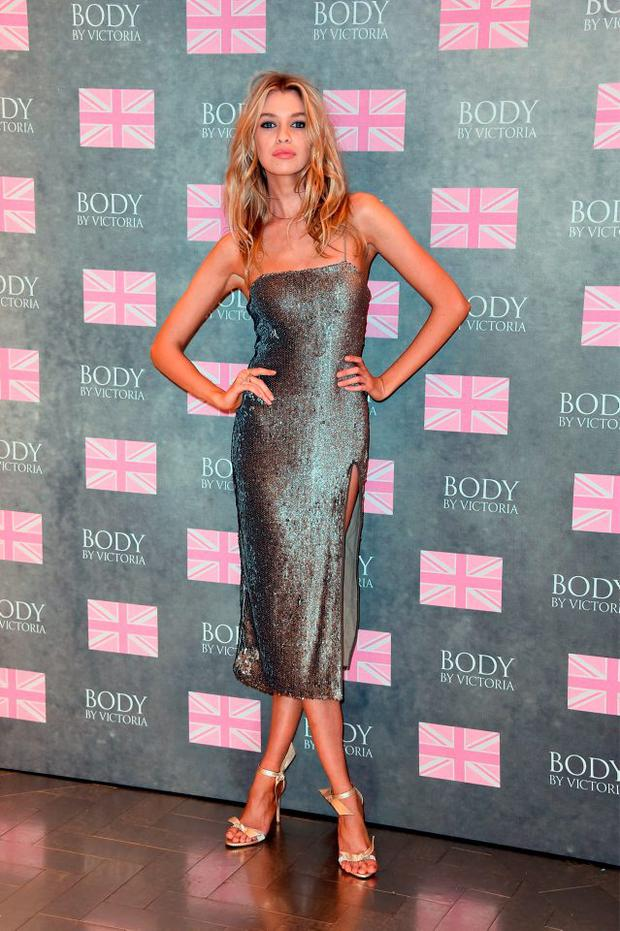 Stella Maxwell launches Victoria's Secret new 'Body by Victoria' collection on August 12, 2015 in London, England. (Photo by Gareth Cattermole/Getty Images)