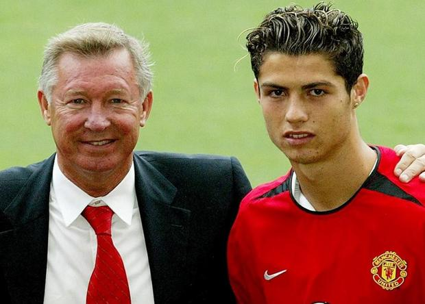 Cristiano Ronaldo signed for Manchester United on August 12, 2003