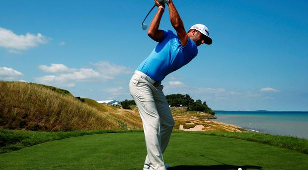 Dustin Johnson: popular choice among the players as a contender this week